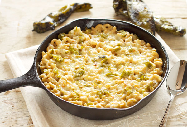 Hatch Green Chile Mac and Cheese -