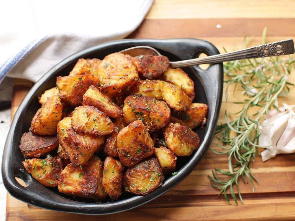 Roasted Yukon Gold Potatoes -