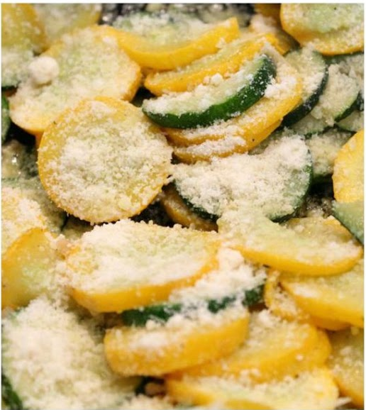 Sauteed Zucchini and Yellow Squash  -