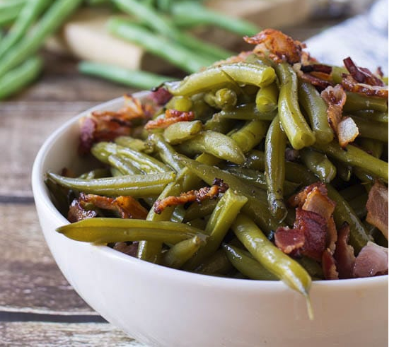 Southern Style Green Beans -