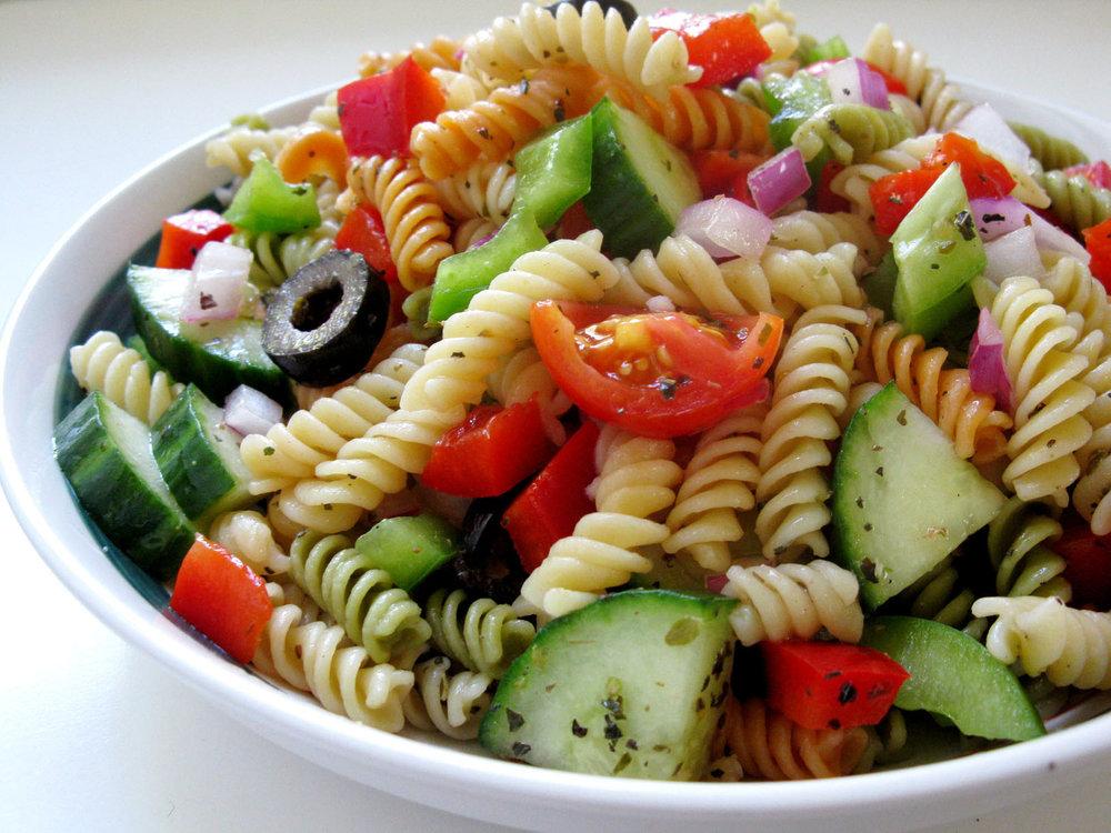 Greek Pasta Salad -