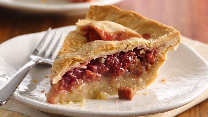 Rhubarb Pie -