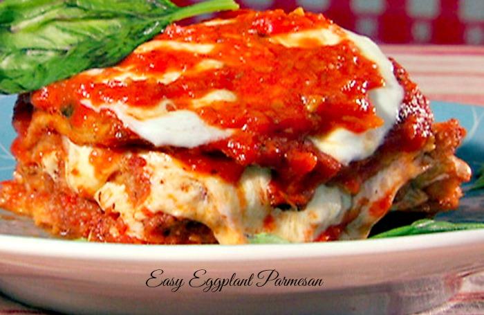 Eggplant Parmesan -