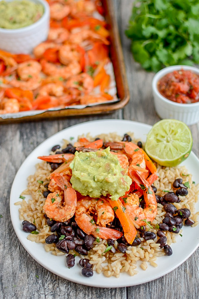 Shrimp Fajitas -