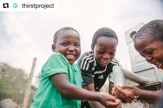 Everyone, please check out @thirstproject or thirstproject.org, they're an amazing non-profit advocating and raising funds to help tackle the water crisis in Africa. They're so important to humanity, founder @sethmaxwell1 is an inspiration to us all. #thirstproject #nonprofit #watercrisis #swaziland #advocacy