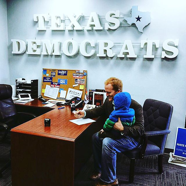 We did it! Today, Laurie & Henry joined me and some of my earliest supporters as I filed my papers to be on the ballot for #tx21. It's official, y'all! There's a progressive populist on the ballot for Congress in Central Texas! @justicedemocrats @OurRevolution #tx21