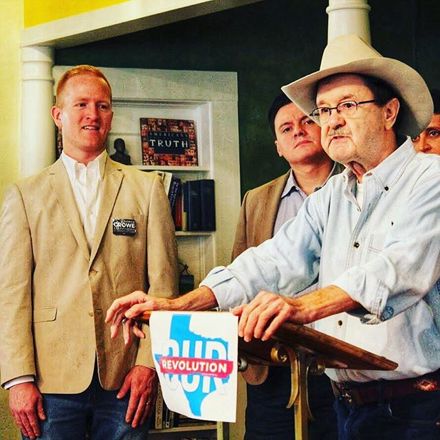 Thank you, Jim Hightower and Our Revolution Texas, for endorsing my run for Congress! #croweforcongress #tx21 #igtexas #igaustin