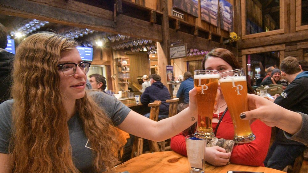COBREW team member Tresha Sanders at Lolo Peak Brewery's COBREWFEST