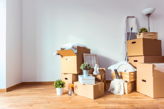 Moving Boxes, Sitterly Movers