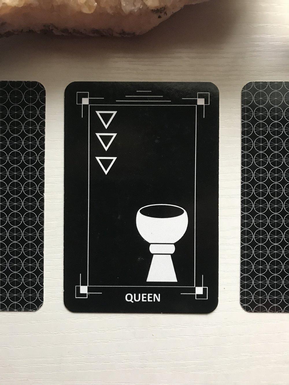 Card 2 - Queen of Cups