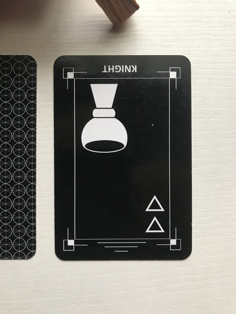 Card 3 - Night of Cups (reversed)