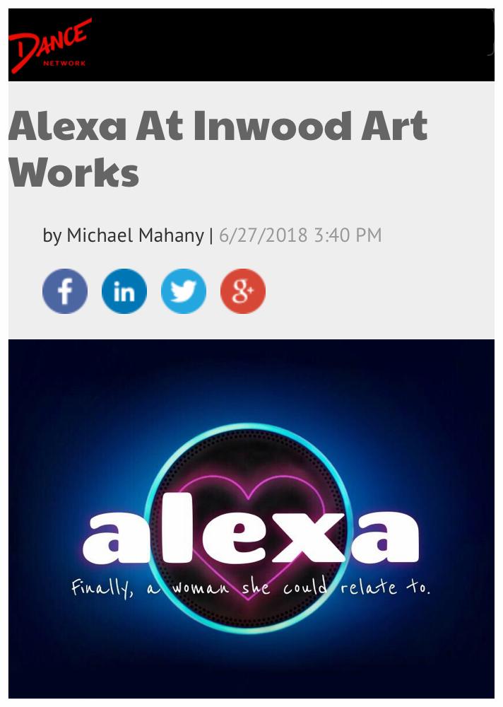 Alexa featured on Dance Network! -