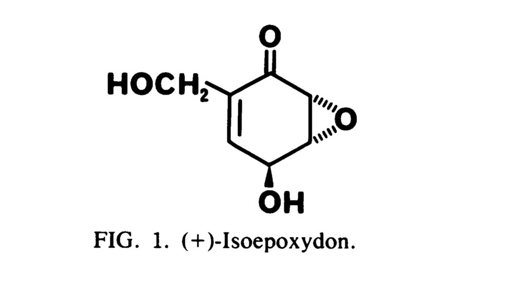 The isolated antifungal compound. Gloer and Truckenbrod  1988 .