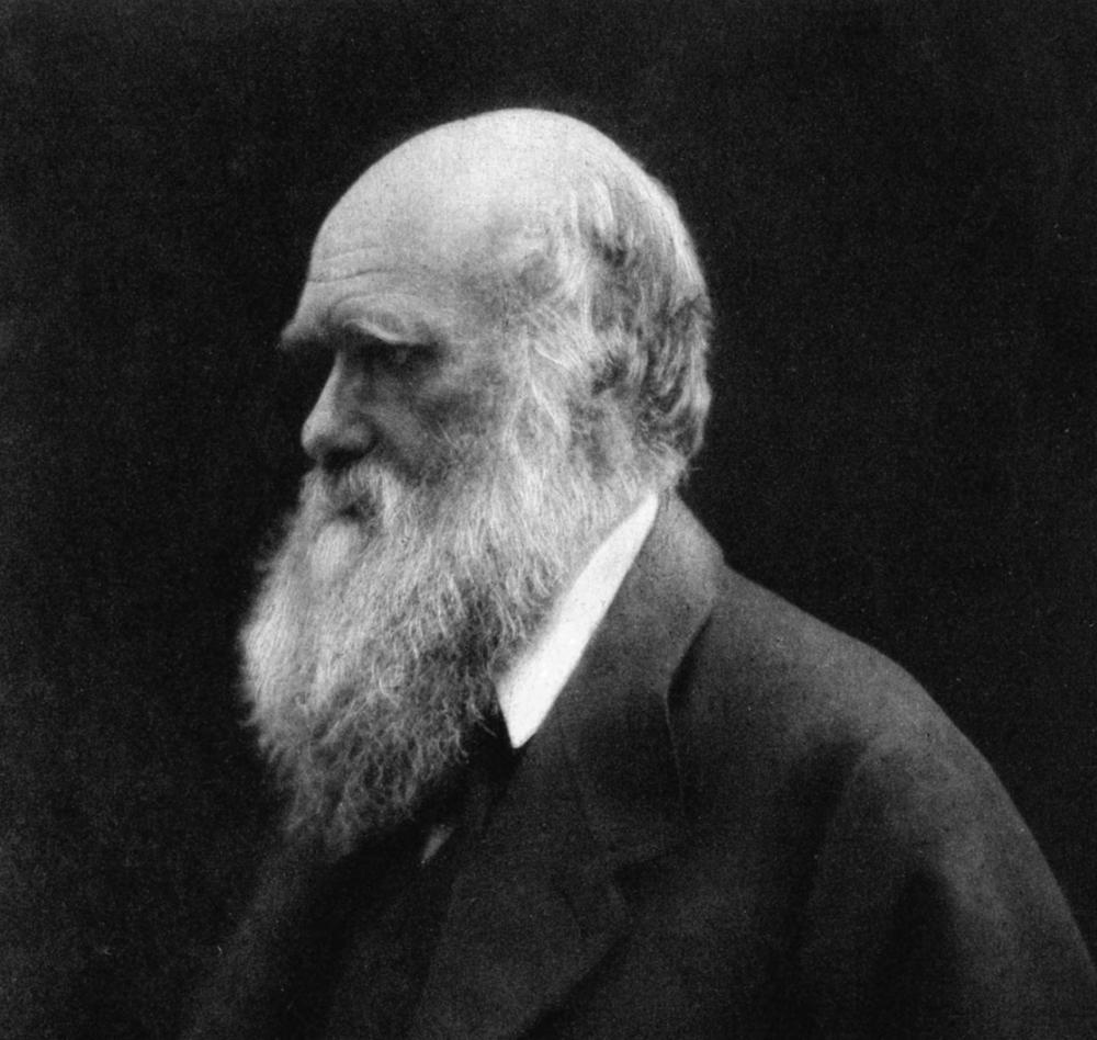 Charles Darwin .