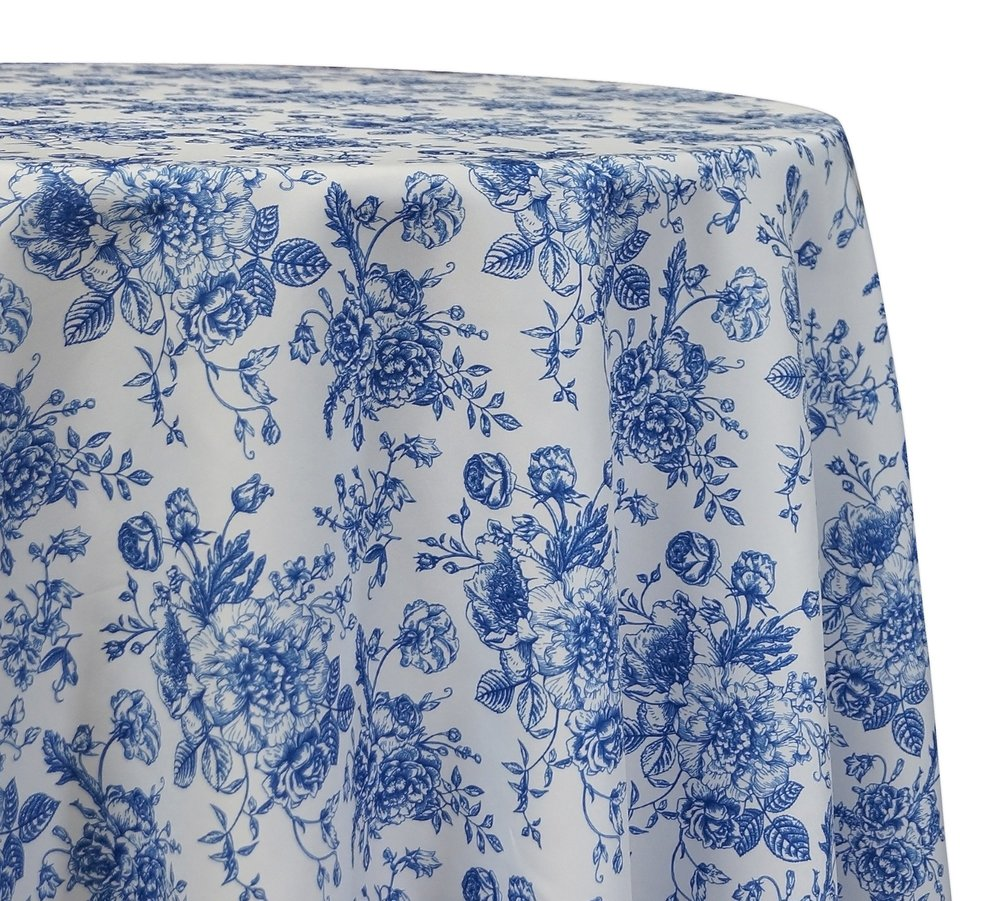 French Toile Print