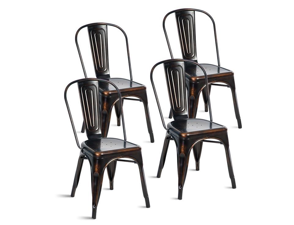 Antique Golden Black Industrial Chairs.jpg