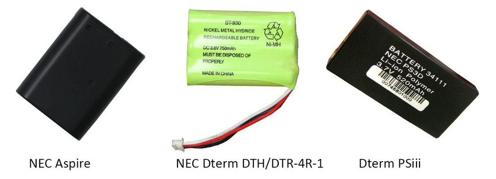Identify the battery pack you need for your NEC cordless phone.