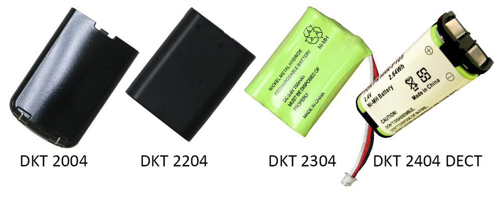 Replace the old worn out battery on your Toshiba DKT cordless phone with one of our new rechargeable batteries.