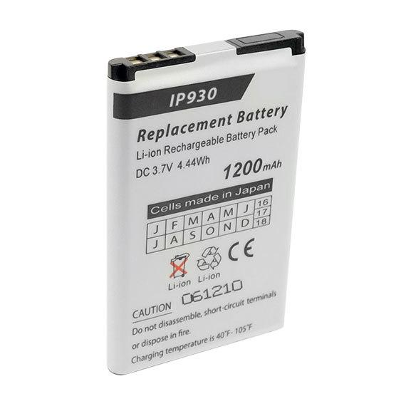 IP930D Replacement Battery - Keep your Shoretel cordless phone at it's peak performance level with our 1200 mAh rechargeable battery pack.
