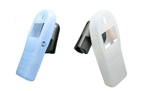 Select either a blue or white silicone case for your Nortel brand 6120 cordless phone.
