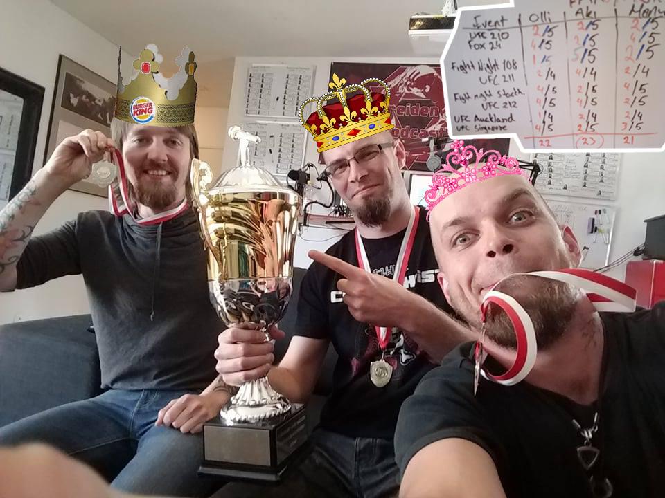 Tuomareiden fantasialiigan ensimmäinen voittaja.