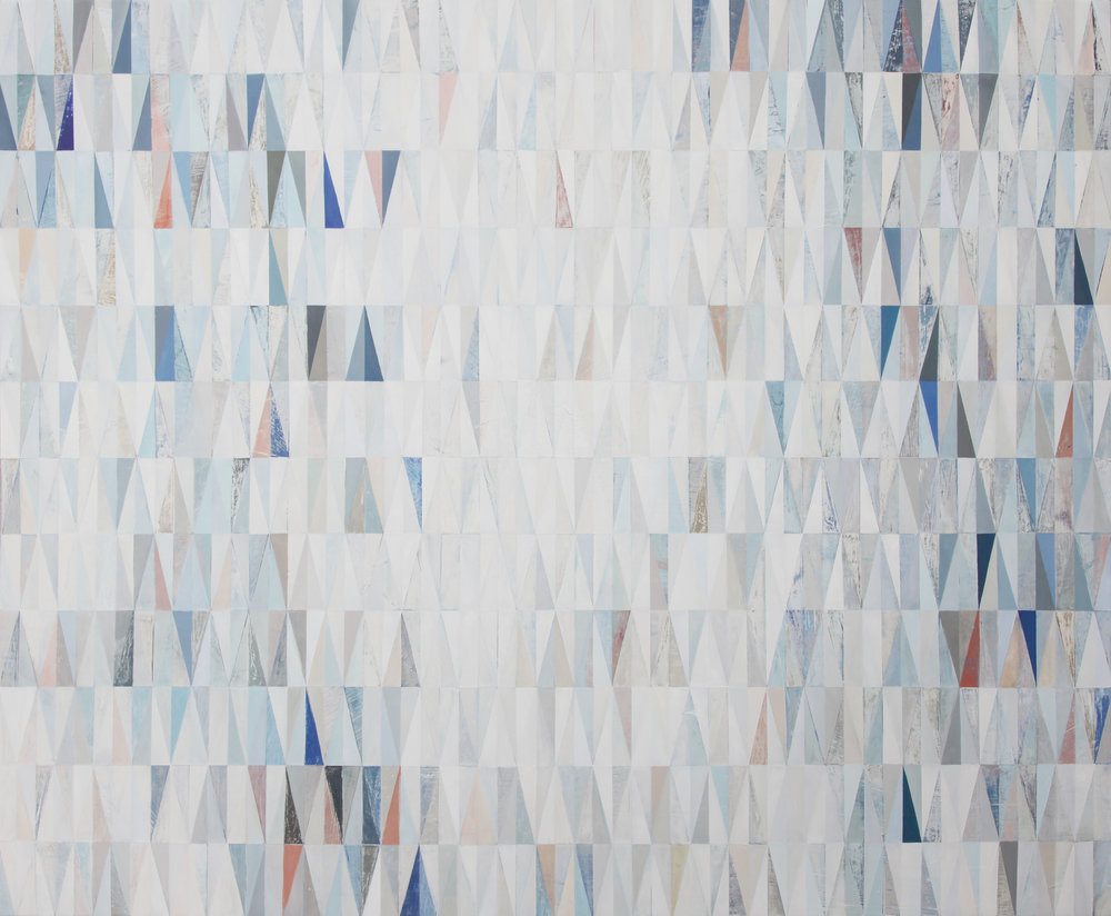Paige Crosland Anderson. The Sum of Our Ceremonies (2015) Oil on panel. 48 x 56 in.