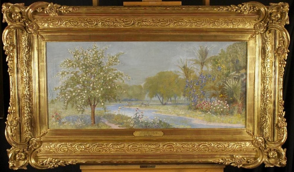 The Tree of Life (1891) by John Hafen. Oil on Canvas. Private Collection.