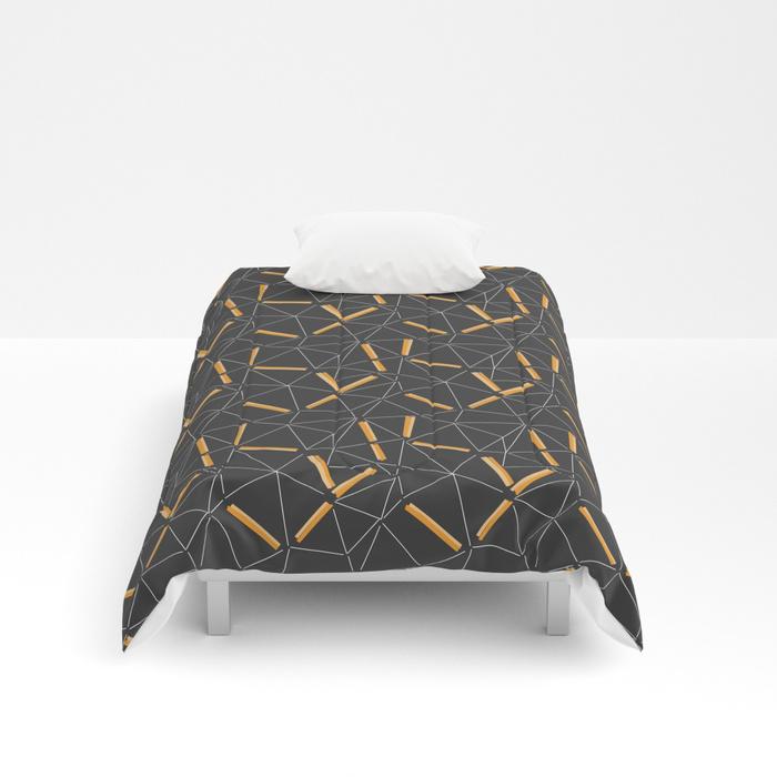Yellow Prisma Comforter