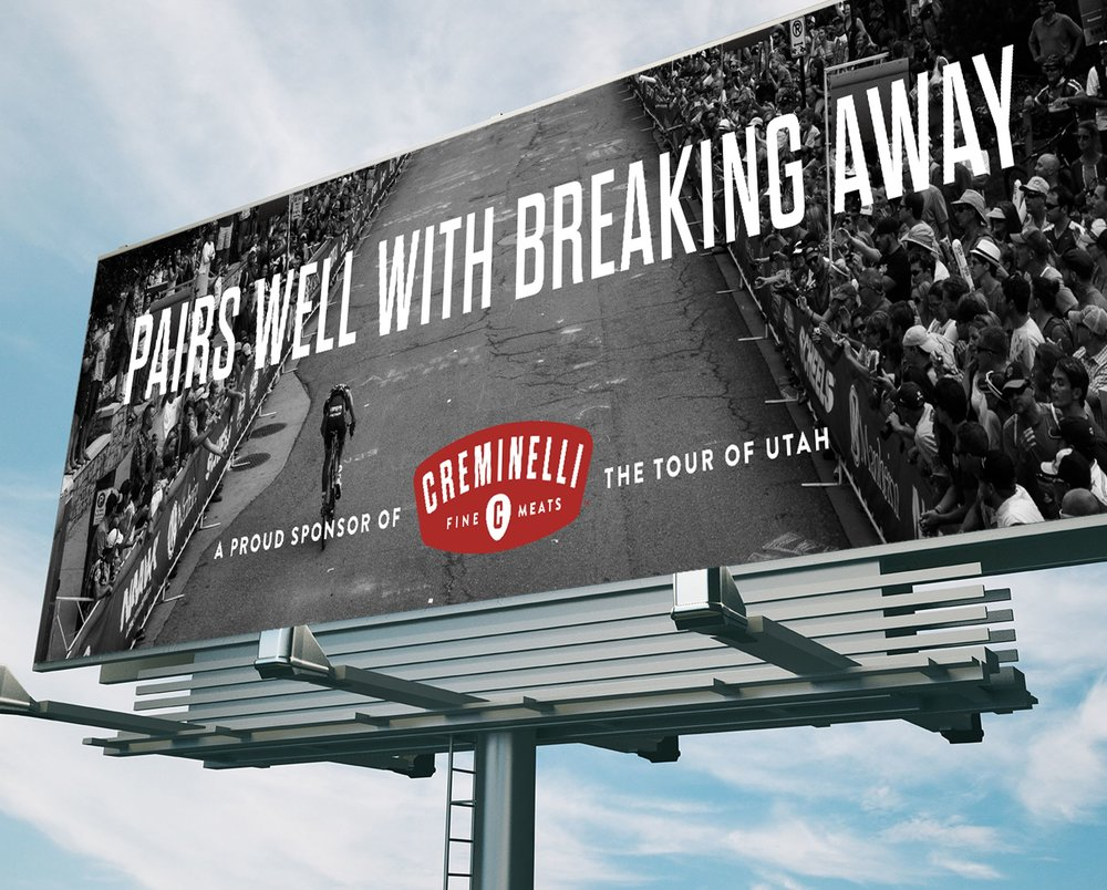 Pairs Well With Breaking Away Billboard