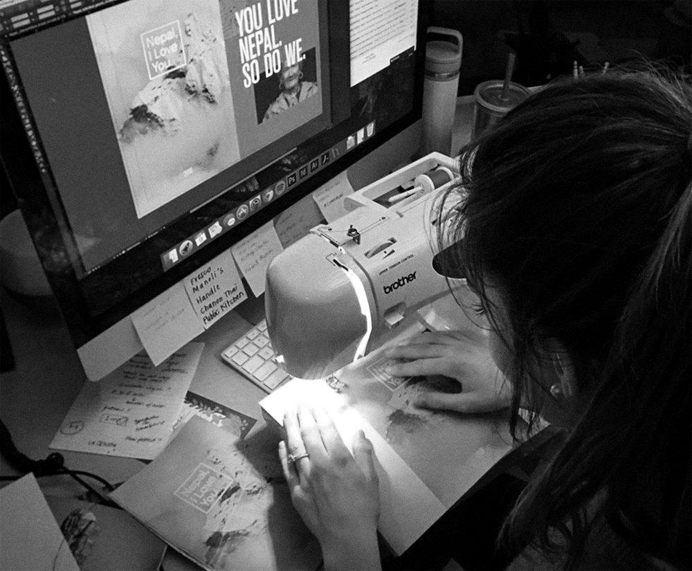 Sewing Nepal Books