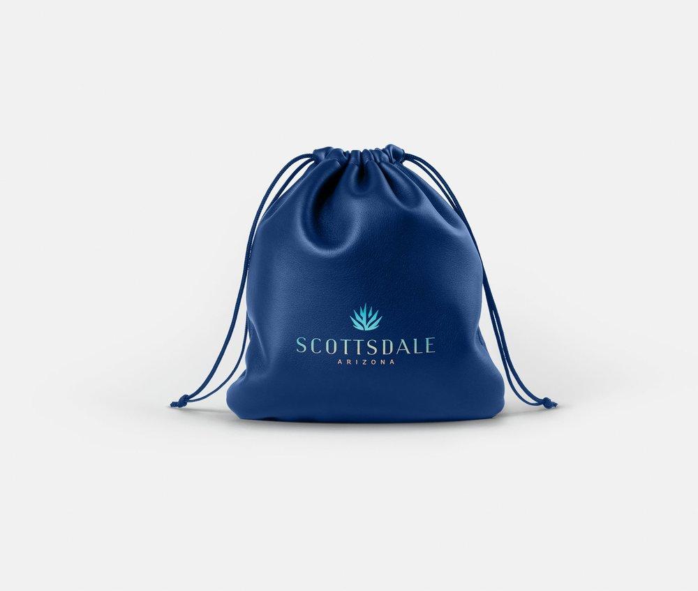 Blue Scottsdale Bag