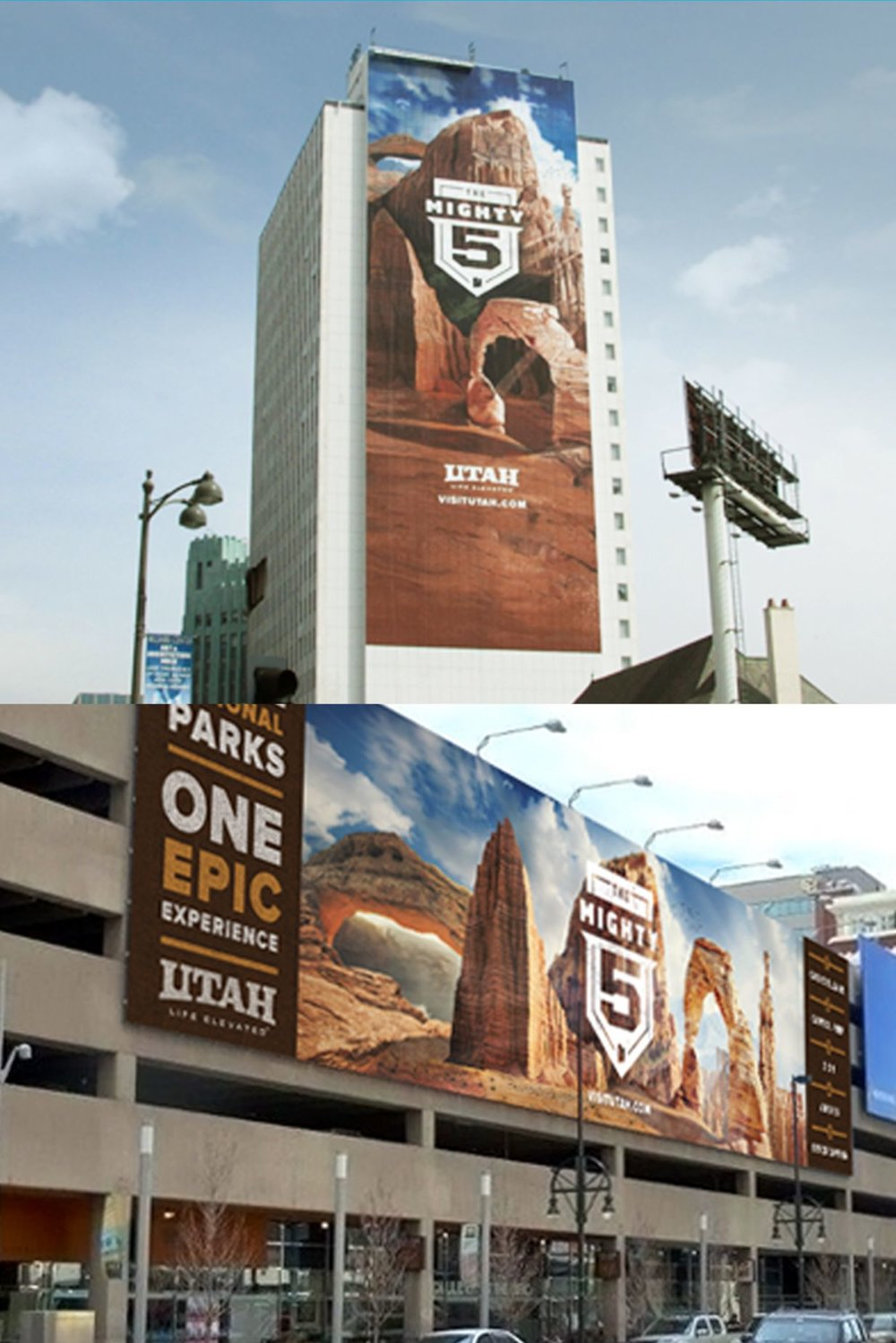 Billboards for Mighty 5 Campaign