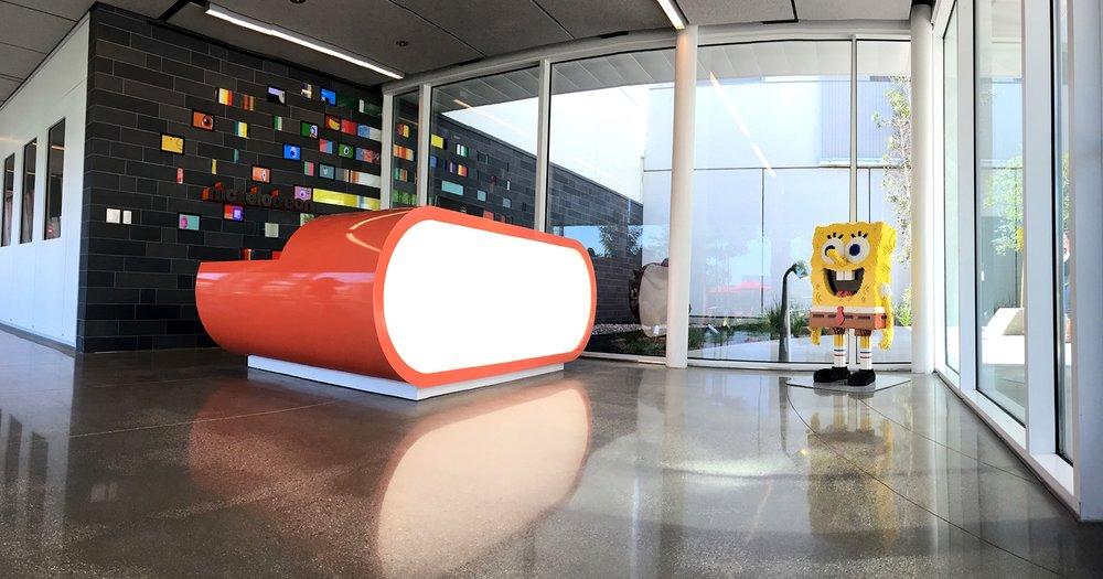 Nickelodeon Facility Reception Area