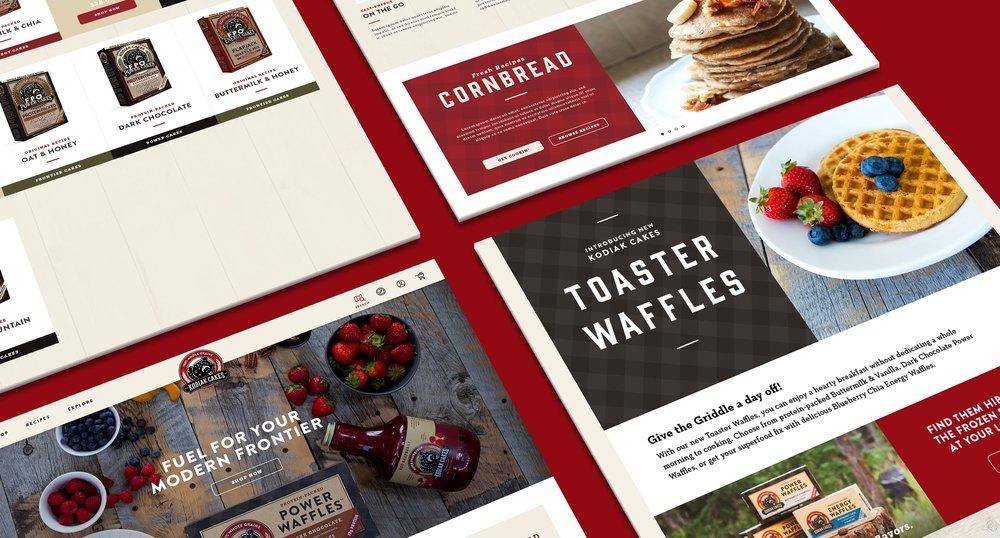 Products on Kodiak Website