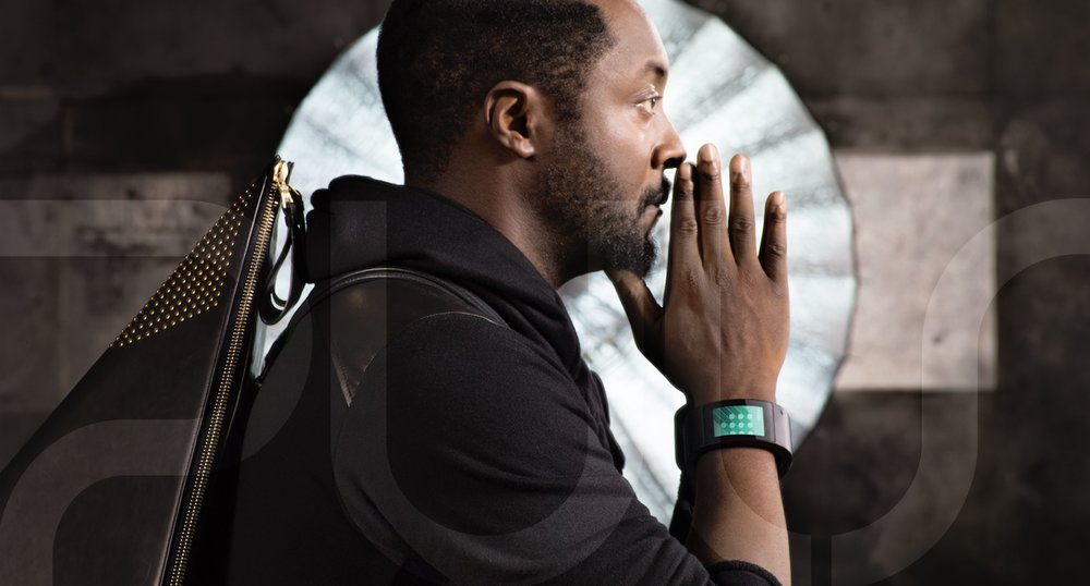 Will.i.am Wearing PULS