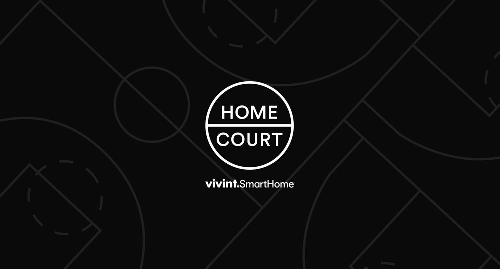 Vivint 'Home Court' Logo