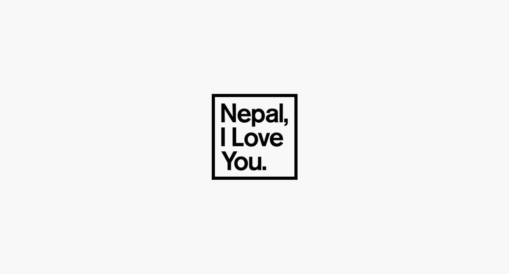Black and White Nepal Logo