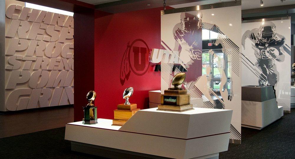 Championship Trophy Display