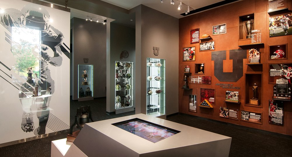 Artifact Cases and Historical Wall