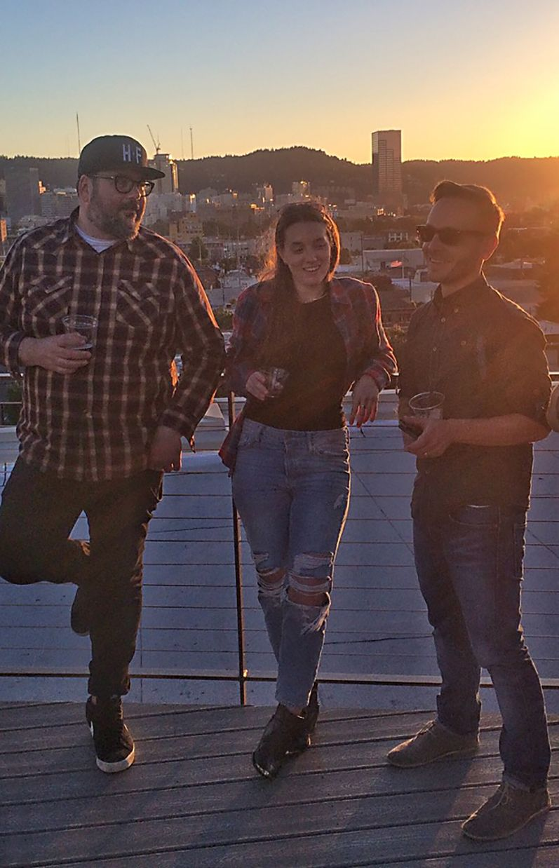 Three Struckers on the PDX Rooftop for Summer Party