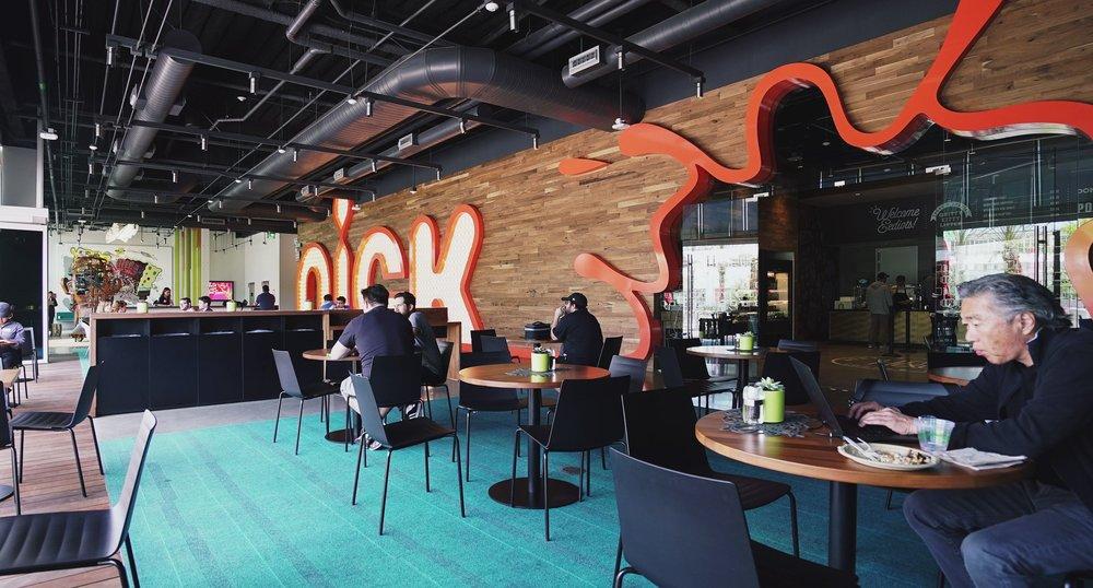 Facility Cafe Seating Area