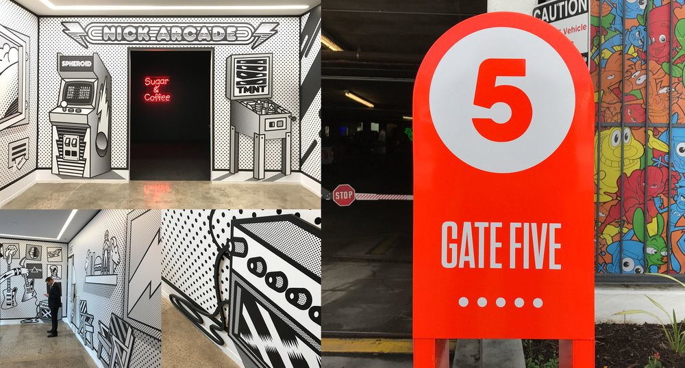 Nick Arcade and Gate 5 Artboard