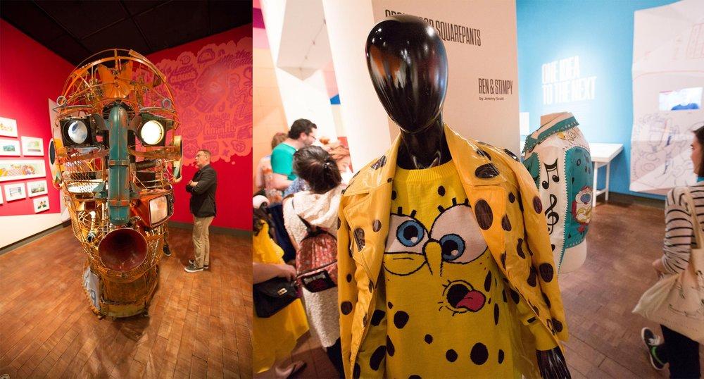 Full Interactive Head and SpongeBob Sweater