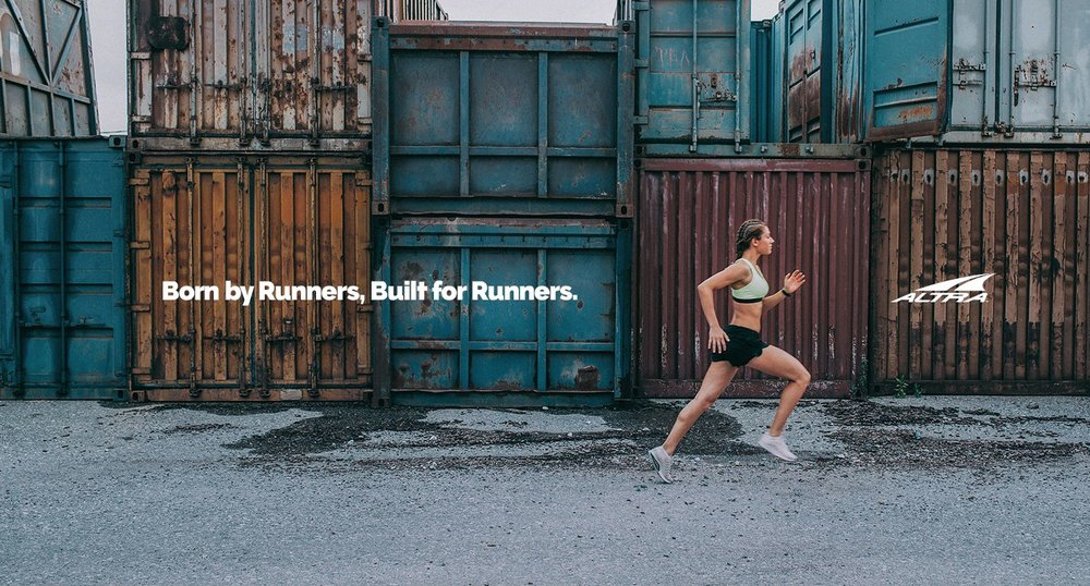Born by Runners Built by Runners Advertisement