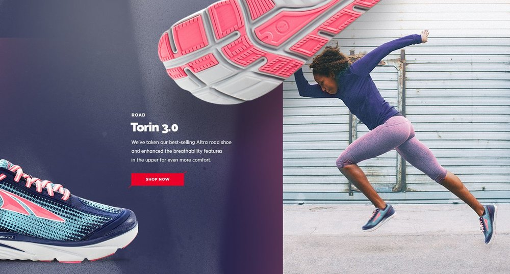 Altra Torin 3.0 Product Page