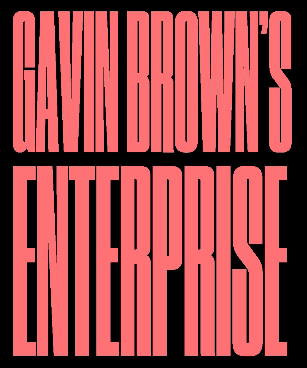 GAVIN BROWN'S ENTERPRISE / NEW YORK CITY, NY (USA) + ROME (ITALY)