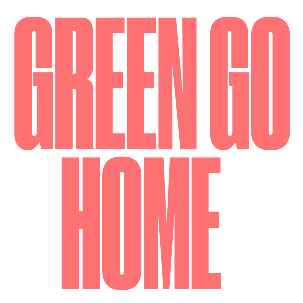 """Thailand + Vietnam  Rirkrit Tiravanija & Tomas Vu - GREEN GO HOME: The story of """"Green Go Home"""" is part myth and part folklore. It is also partially a misunderstanding, and, to some degree, an invention of the imagination. Nonetheless, it makes for a compelling story."""