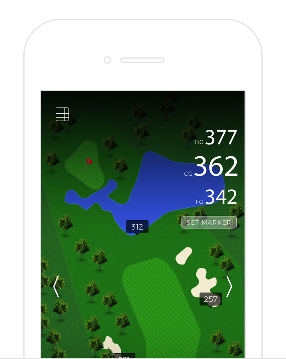 GPS - Accurate and customized GPS yardage system for your golf course. We provide full tee-to-trouble GPS mapping (not just to the center of the green) in user friendly interface. Golfers can even measure their shot through the app.