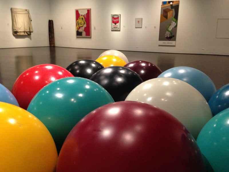 Balls at LACMA