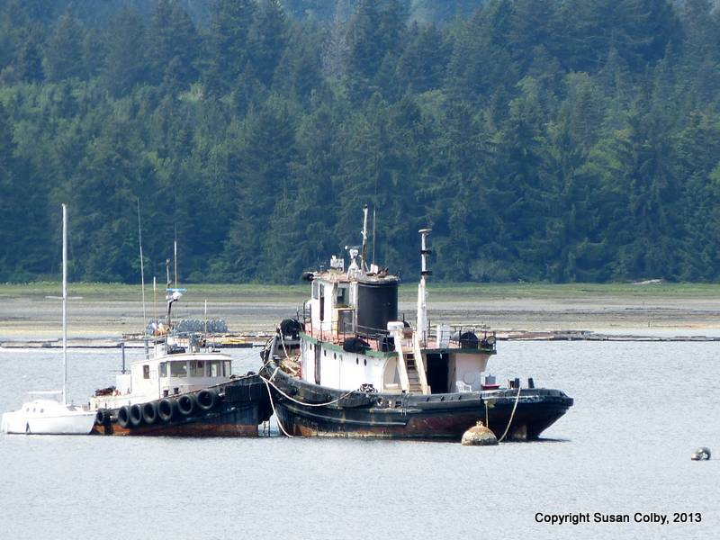 Lovely old tug in Deep Bay